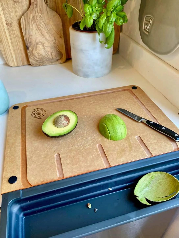 Mary Ann Pickett's Cutting Board with Tray