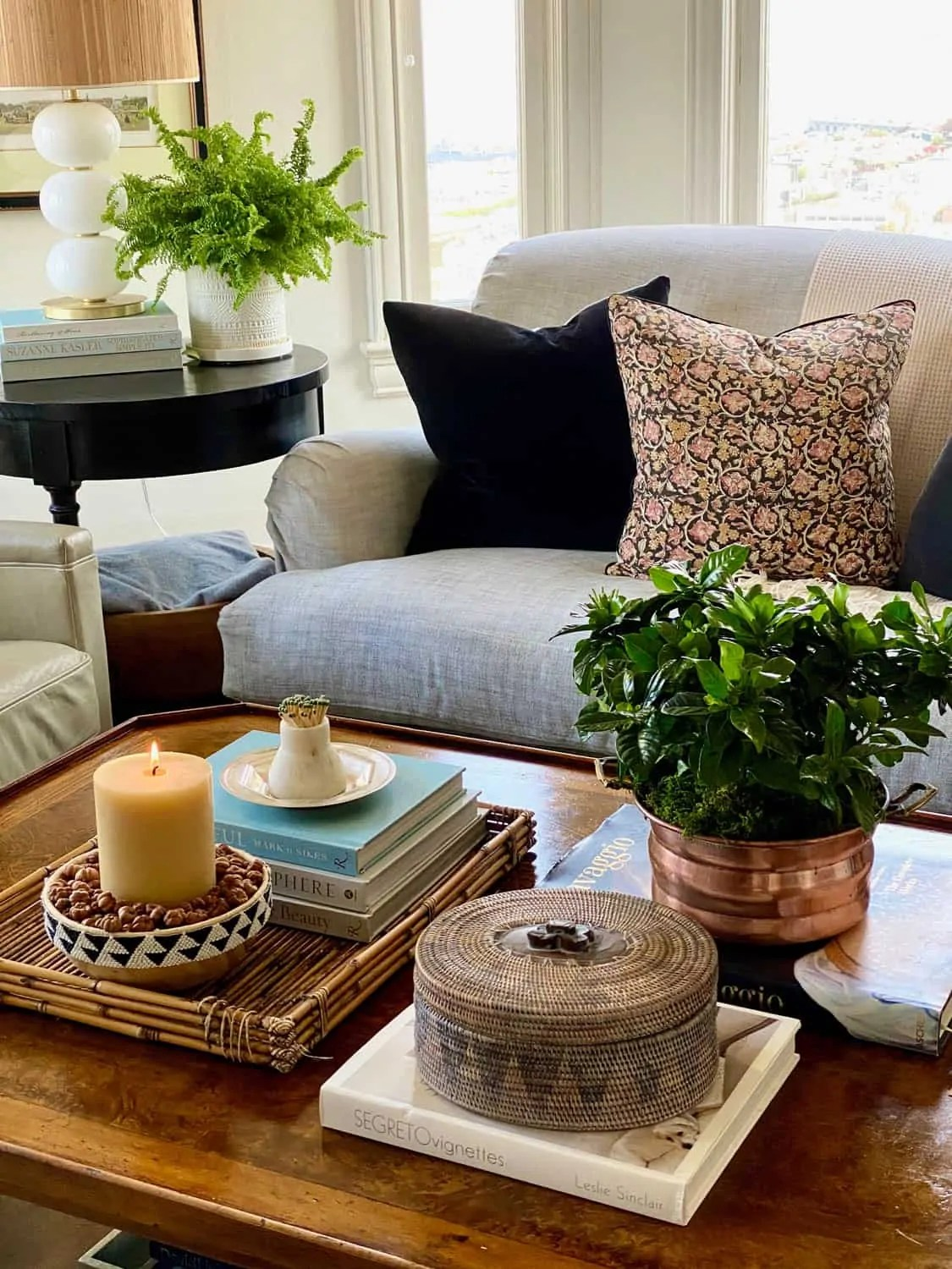 Mary Ann Pickett's Fall Coffee Table