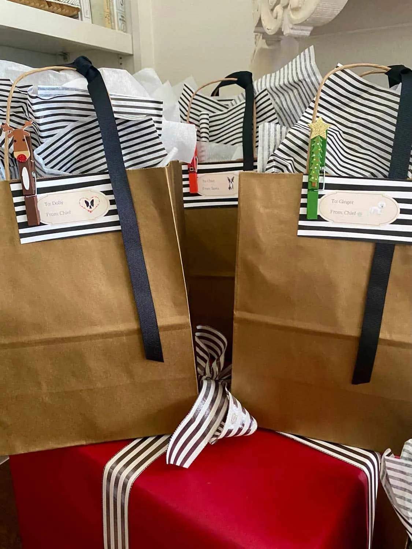 Mary Ann Pickett's Custom Gift tags Using Canva