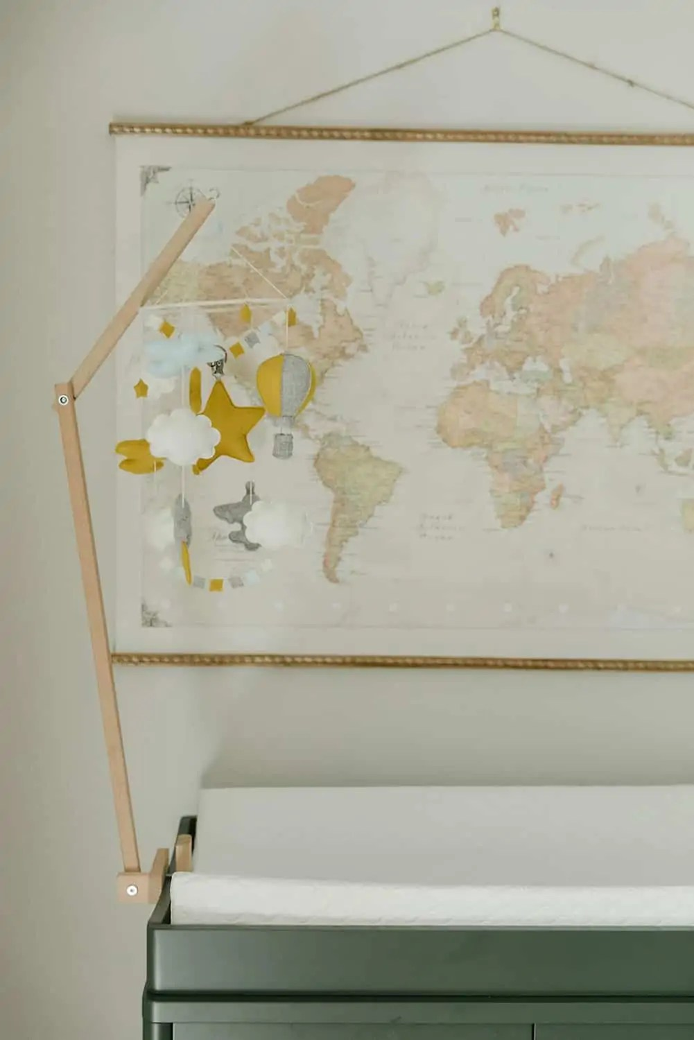 Mary Ann Pickett's Travel Themed Nursery