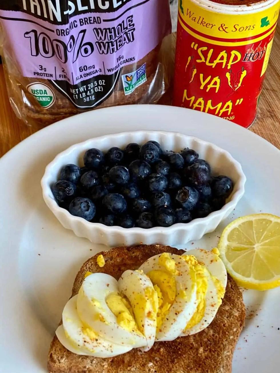Weight Watcher's 3 point breakfast