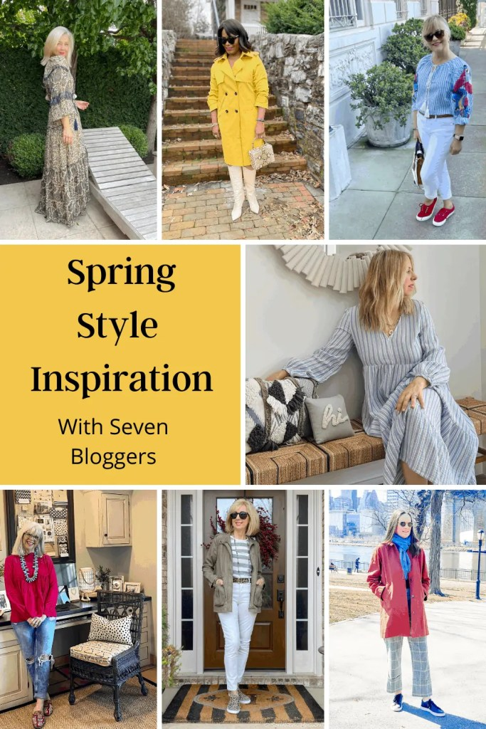 Spring Style with Mary Ann Picket and Six Other Bloggers