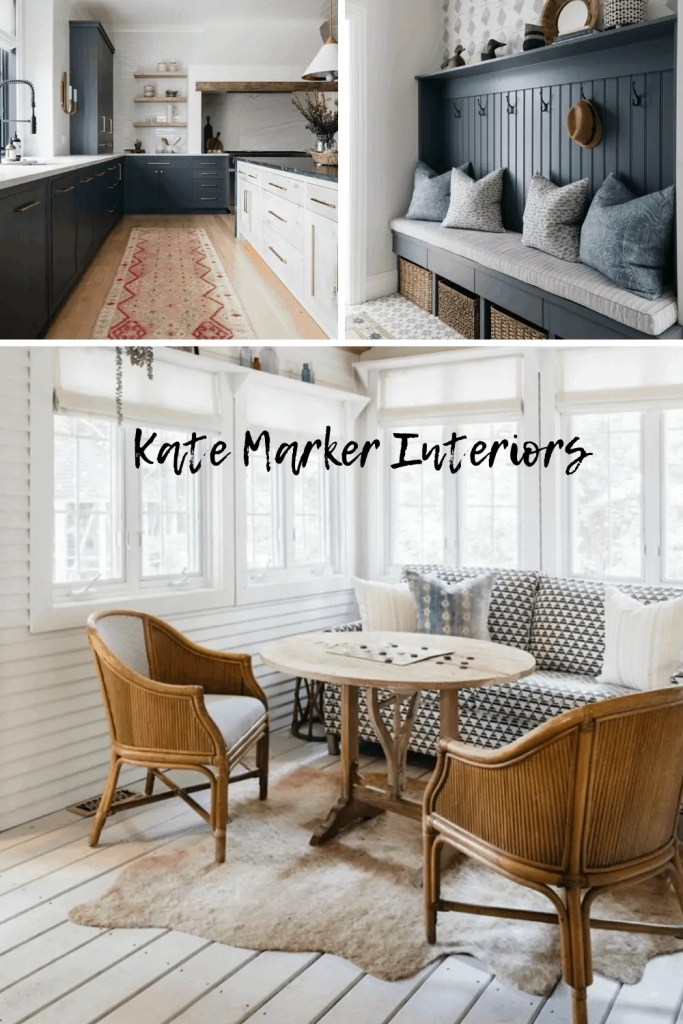 seating areas by Kate Marker