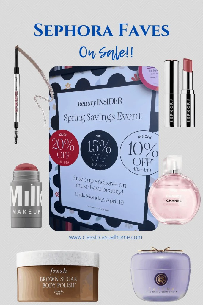 Mary Ann Pickett's Favorites at the Sephora Sale