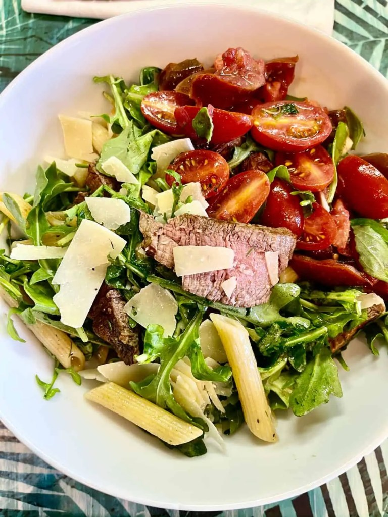 Annie's Steak and Pasta Salad with Tomatoes