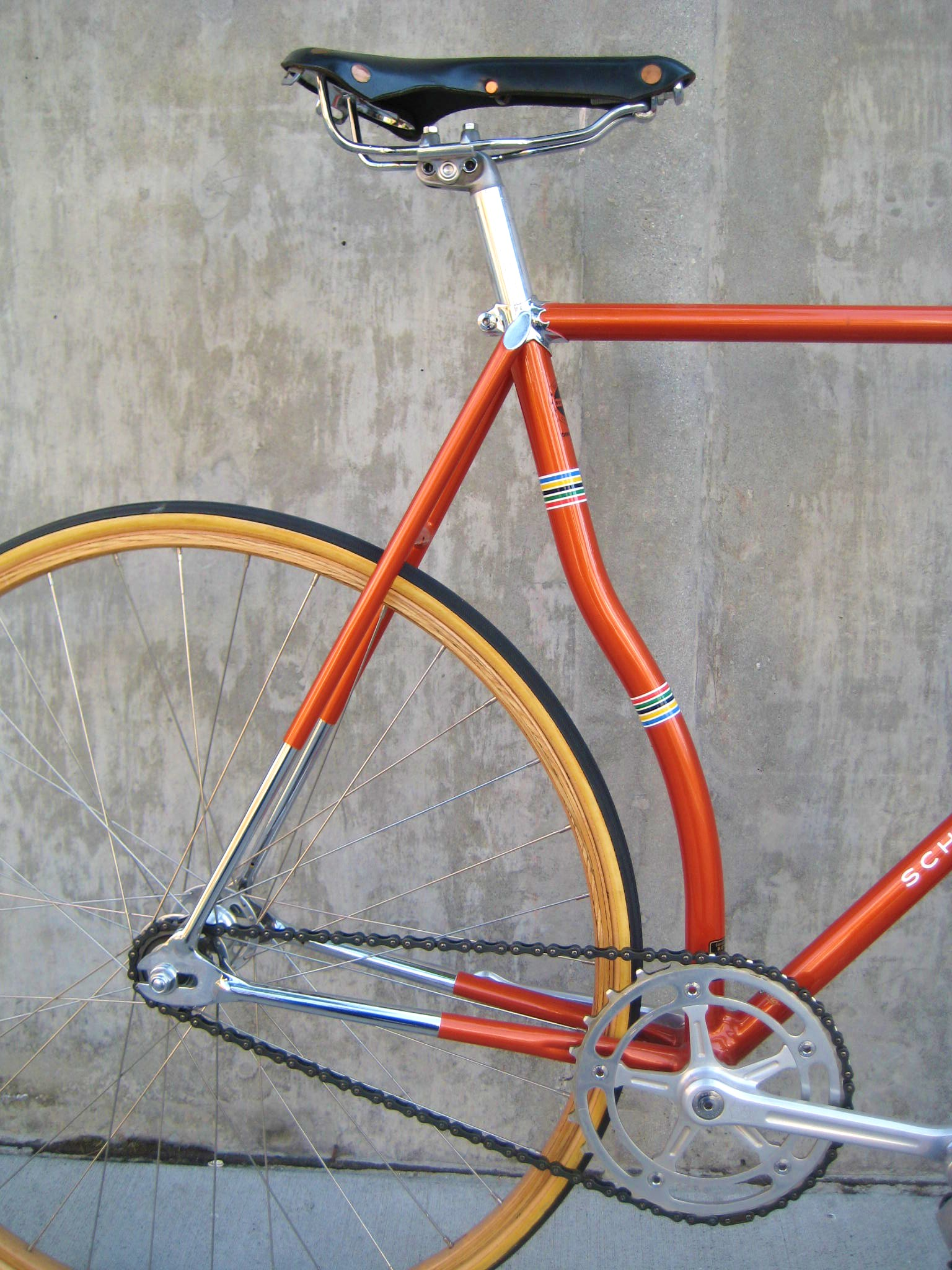 Scwhinn Paramount Curved Seat Tube Culture Cycles