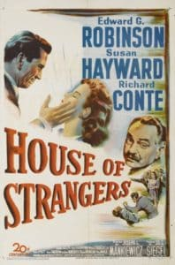 House of Strangers Movie Poster