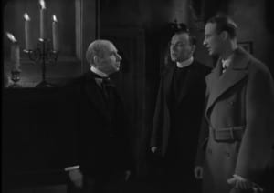 The Ghoul 1933 Cedric Hardwicke, Anthony Bushell, and Ralph Richardson