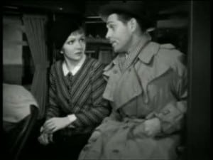 It Happened One Night 1934 Clark Gable and Claudette Colbert 8