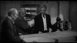 Man Who Shot Liberty Valance 1962 Jimmy Stewart casket