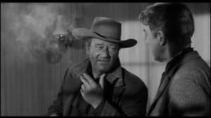 Man Who Shot Liberty Valance 1962 John Wayne Jimmy Stewart 2