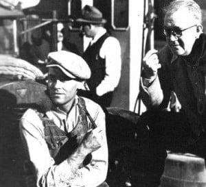 Henry Fonda and John Ford Grapes of Wrath