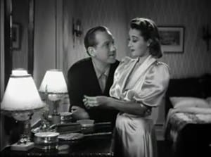 1939 The Amazing Mr. Williams Joan Blondell and Melvyn Douglas 3