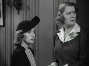 1939 The Amazing Mr. Williams Joan Blondell and Ruth Donnelly