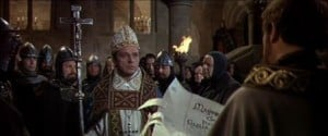 1964 Becket Richard Burton and the Writ