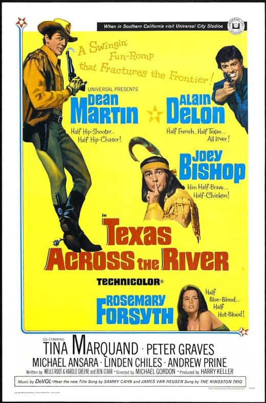 Image result for texas across the river 1966