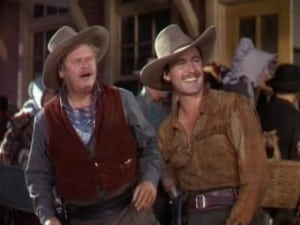 Dodge City 1939 Errol Flynn and Alan Hale