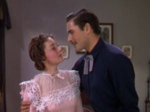 Dodge City 1939 Errol Flynn and Olivia de Havilland