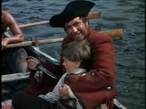 1950 Treasure Island Robert Newton and Bobby Driscoll 3
