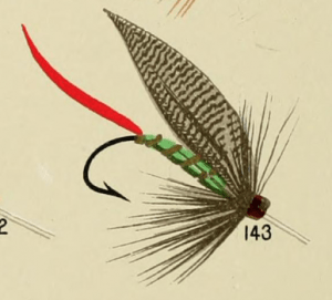 Grizzly King Trout Fly