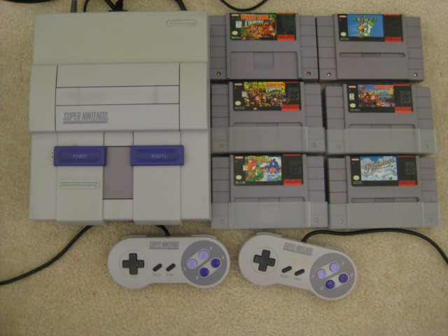 Image result for snes and games