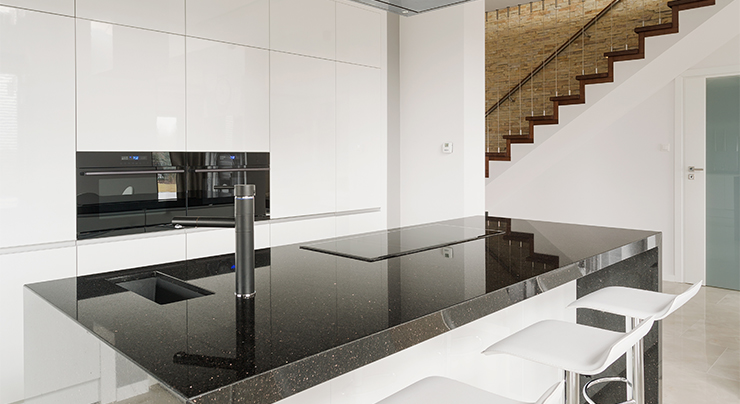 How to Care for Your Black Galaxy Granite   Classic Granite ...