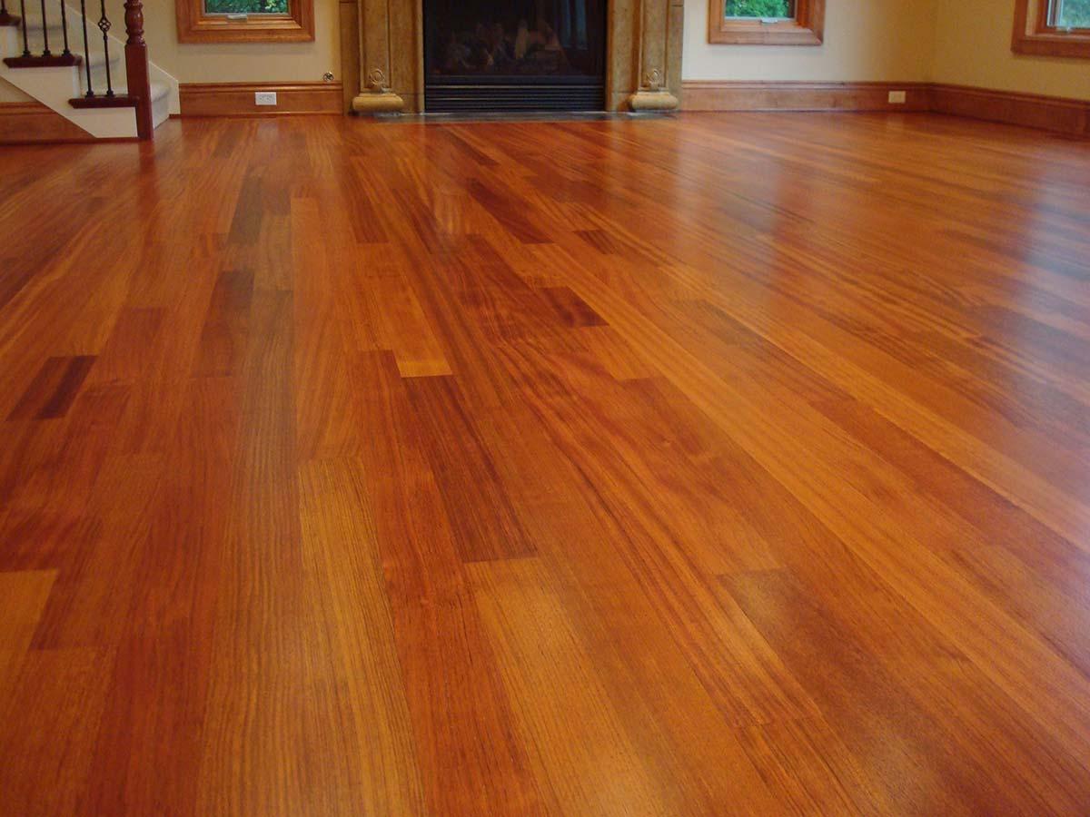 sàn gỗ giáng hương nâu đỏ