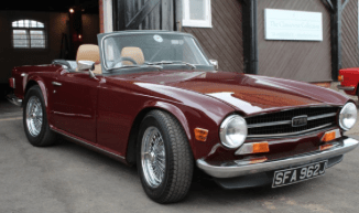 brown classic car image
