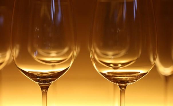 Picture of wine glasses