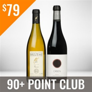 90+ Point Wine Club Monthly Membership