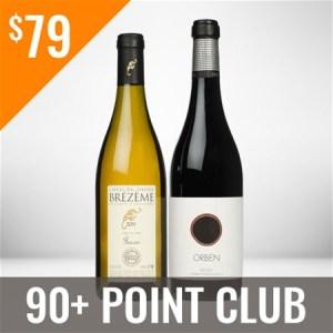 90+ Point Wine Club Three Shipment Membership