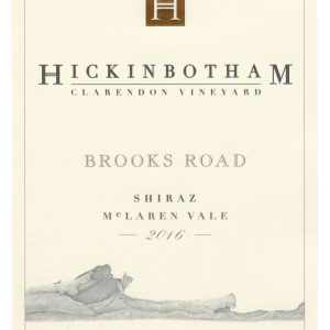 Hickinbotham 2016 Brooks Road Shiraz - Syrah/Shiraz Red Wine