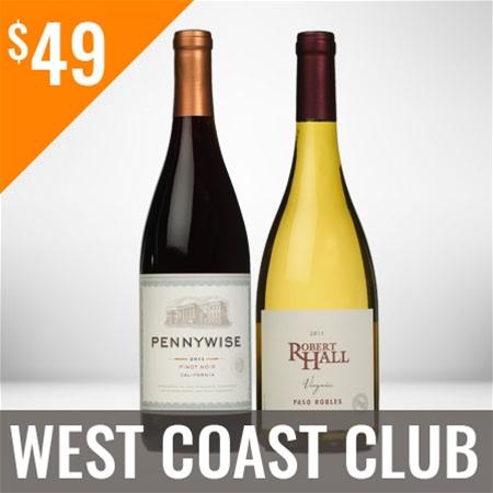 West Coast Wine Club Twelve Shipment Membership