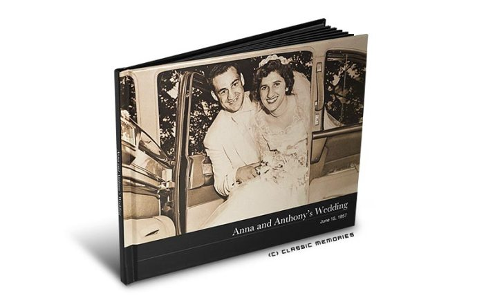 Classic Memories Hard Cover Photo Book
