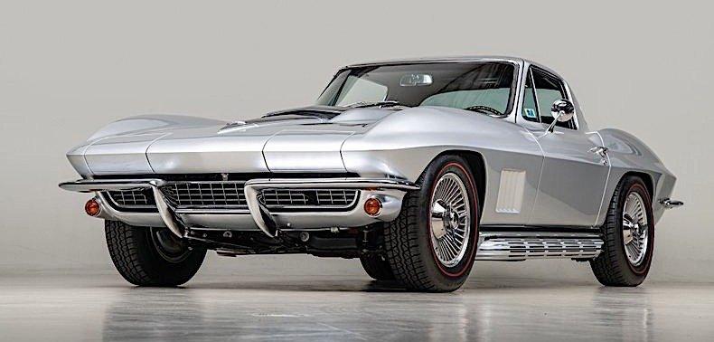 subtly upgraded 1967 chevrolet corvette