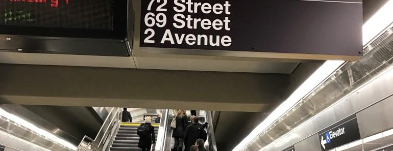 Second Avenue Subway New York City