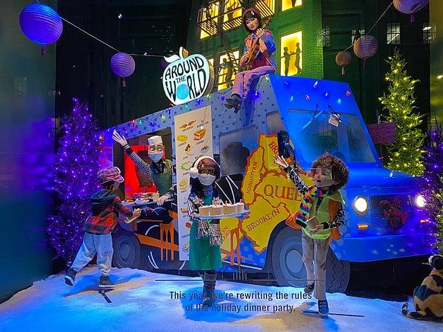 Bloomingdale's Christmas Window display