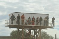 The viewing gallery...