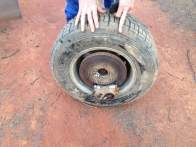 wheel came off