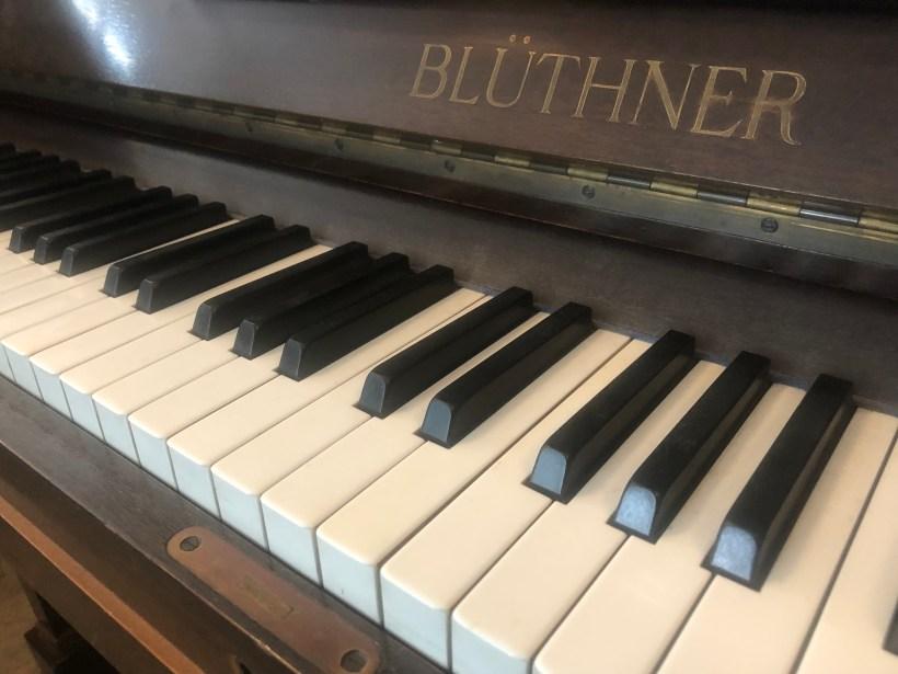 Blüthner Tastatur
