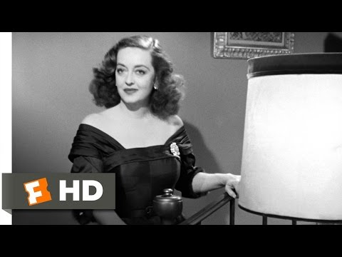All About Eve (1/5) Movie CLIP – Fasten Your Seatbelts (1950) HD