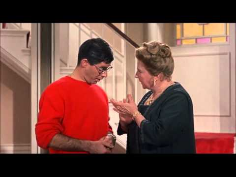 """Jerry Lewis – Scene from """"The Ladies Man"""" – 1961"""
