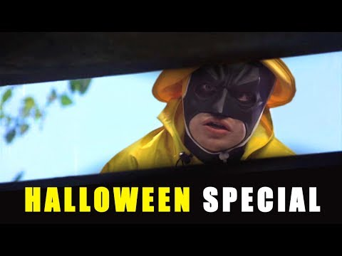 Batman in Classic Movie Scenes: Halloween Special