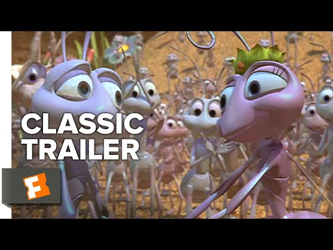 A Bug's Life (1998) Trailer #1 | Movieclips Classic Trailers