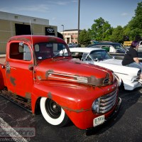 CRUISING: 1950 Ford 'Voodoo F-1'