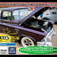 2016 Daily Herald Cruise Nights are back!