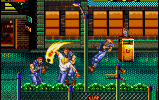 Image result for Streets of Rage 2 genesis