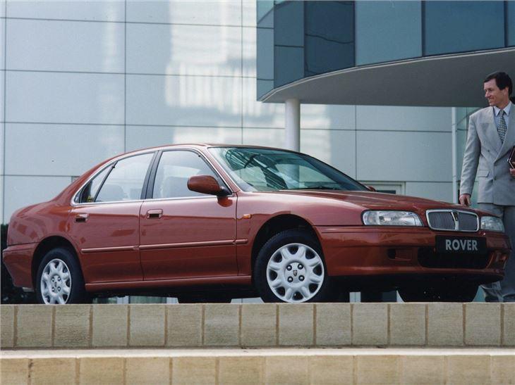 Rover 600 in Nightfire Red