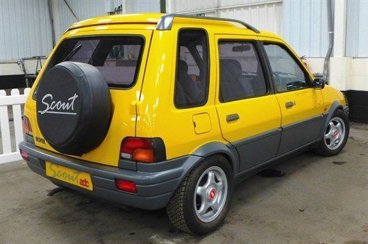 Rover Metro Scout Pic 2