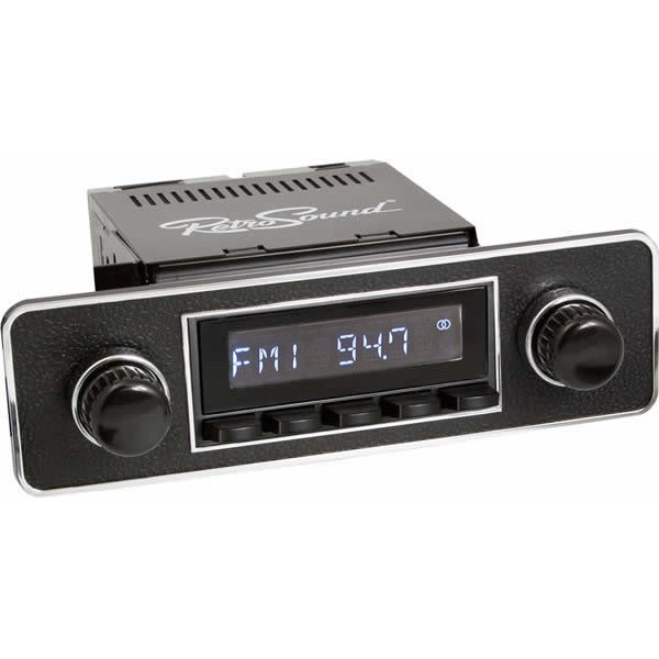 Radio RetroSound SD Black Euro (DAB)